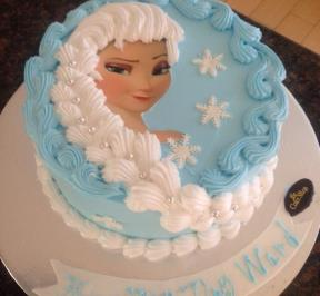 Frozen Hair Cake ( 1 )