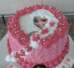 Frozen Hair Cake ( 2 )