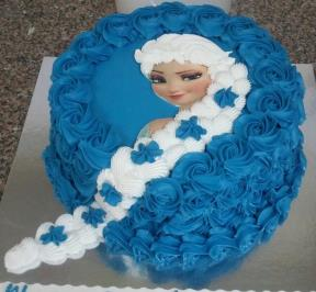 Frozen Hair Cake ( 3 )