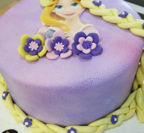 Frozen Hair Cake ( 5 )