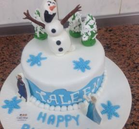 Frozen Themed Cake (  1 )
