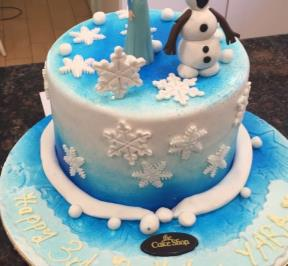 Frozen Themed Cake ( 2 )
