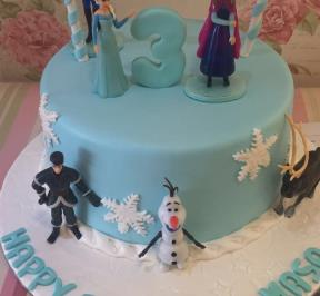 Frozen Themed Cake ( 3 )