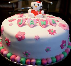 Hello Kitty Cake ( 1 )