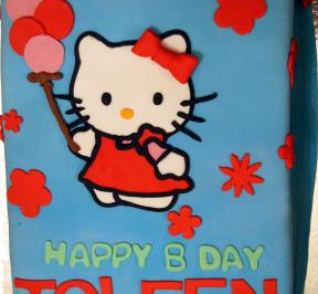 Hello Kitty Cake ( 2 )