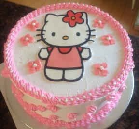 Hello Kitty Cake ( 6 )
