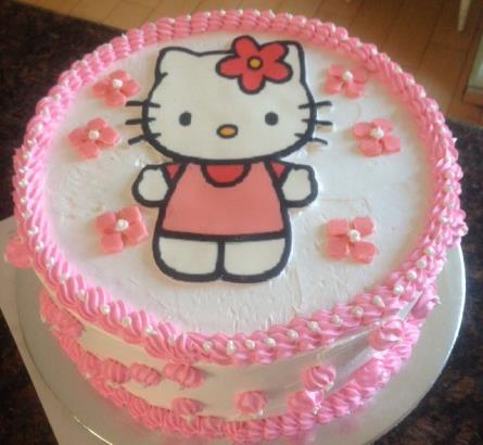 Hello Kitty Cake 6