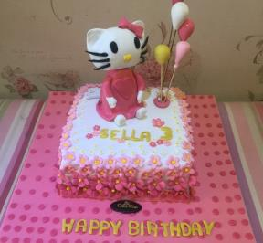 Hello Kitty Cake ( 7 )