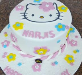 Hello Kitty Cake ( 10 )
