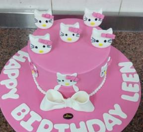Hello Kitty Cake ( 11 )