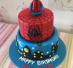 Spiderman Cake (7)