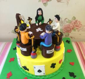 Playing Card Cake ( 1 )