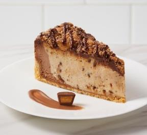 REESE`S PEANUT BUTTER CHEESECAKE